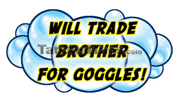 Will Trade Brother For Googles Tattoo Tattoo