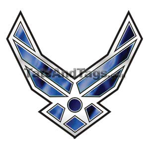 Air Force Temporary Tattoo