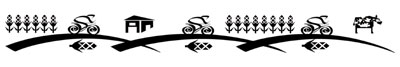 Bike Riders Bicycle Temporary Tattoo