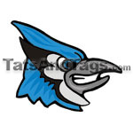 Blue Jay temporary tattoo