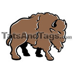 buffalos temporary tattoo