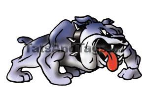 Mascot Temporary Tattoos | School Mascot Face designs