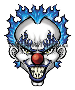 Tattoo Designs Clowns