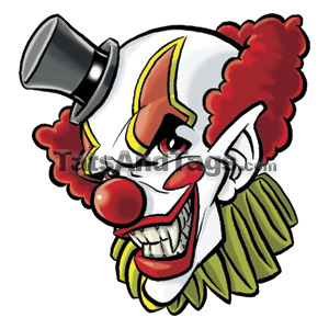 Evil Clown Tattoo Designs on Clown Tattoo Designs   Sickest Tattoo Ever  Read This And Find Out