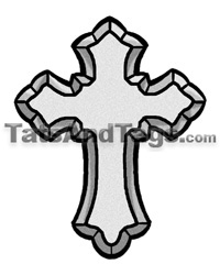 Cross Temporary Tattoos | Religious Designs