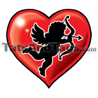 cupid temporary tattoo