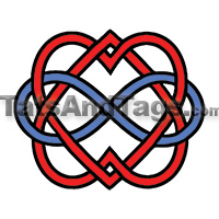 double infinity temporary tattoo