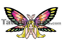 fairy temporary tattoo
