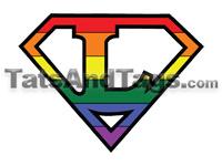 Lesbian Pride Tattoo