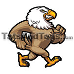 marching eagle temporary tattoo