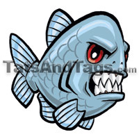 Piranhas tatto