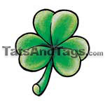 shamrock  temporary tattoo