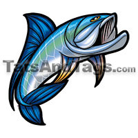 tarpon temporary tattoo