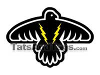 thunder bird temporary tattoo