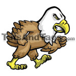walking eagle temporary tattoo