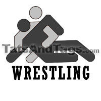 wrestling temporary tattoo
