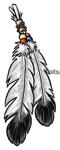 Picture Of An Eagle Feather