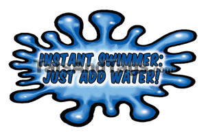 instant swimmer temp tattoo