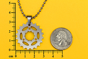 chain wheel pendant