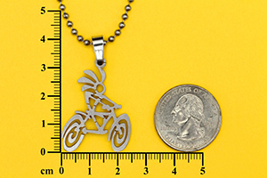 kokopelli bike jewelry