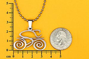 Bicycle jewelry bike necklaces pendants and earrings tribal bicycle necklace kokopelli bike jewelry tri bike pendant aloadofball Image collections