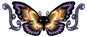 Tribaly Butterfly Temporary Tattoo